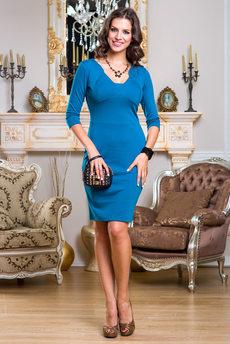 Платье с небольшим декольте Angela Ricci