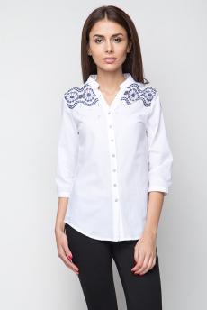 ХИТ продаж: блузка с вышивкой на плечах Marimay
