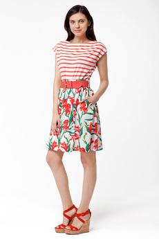 Летняя юбка с ремнем Vilatte