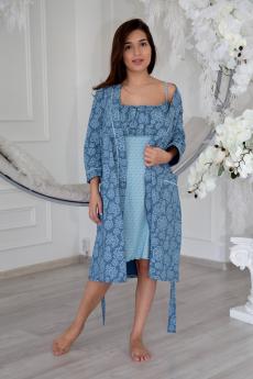 Комплект: сорочка и халат Lika Dress