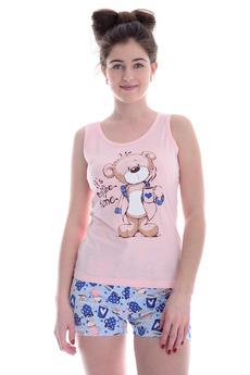 Пижама с мишкой Malina